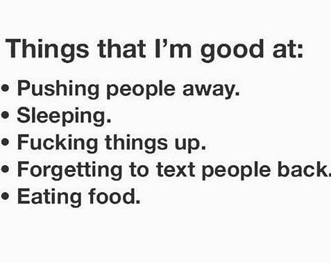 Pin By Lisa Caramanello On Stuff I Can Relate To Pushing People Away Funny Quotes Funny Lists