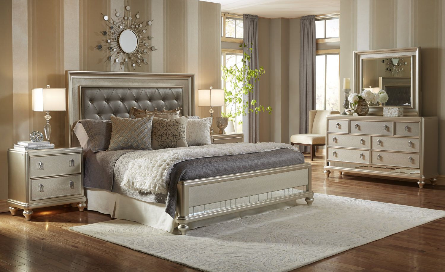Bedroom Suite Ideas Upholstered Bedroom Set Diva Bedroom Set