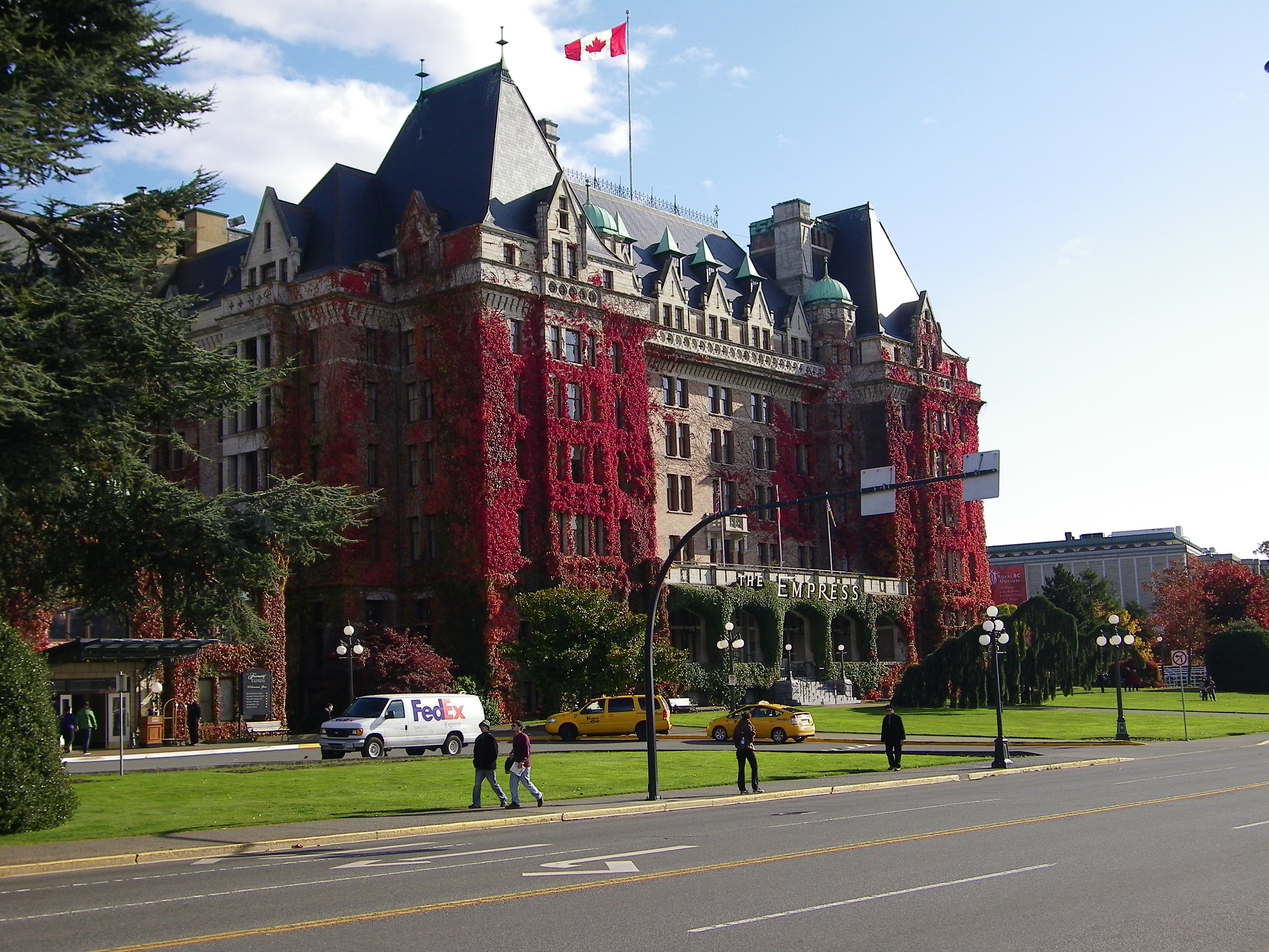 The Empress Hotel in Victoria Canada. Spent my sisters's 50th birthday there. Such a good time!