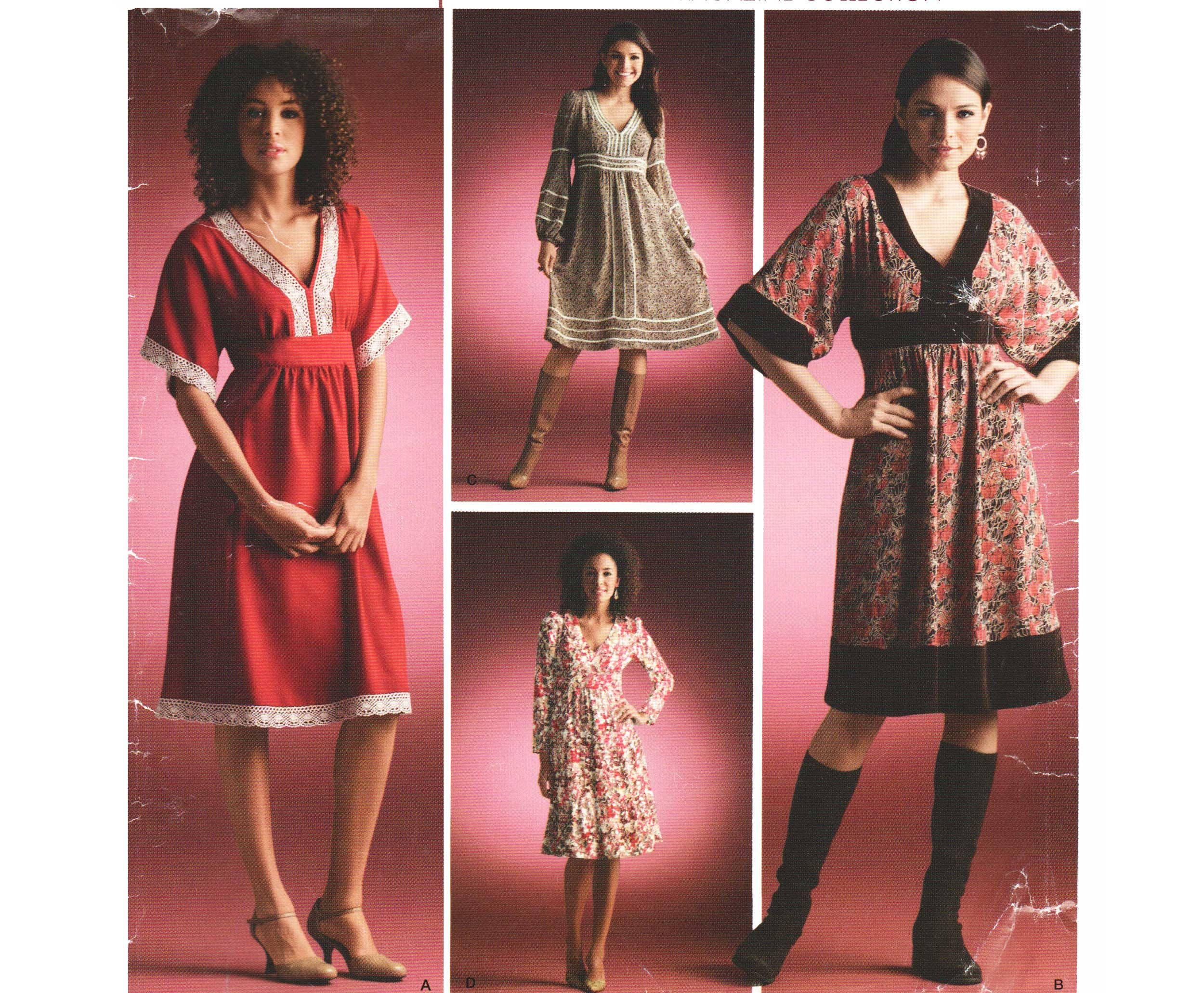 Empire Waist Boho Dress