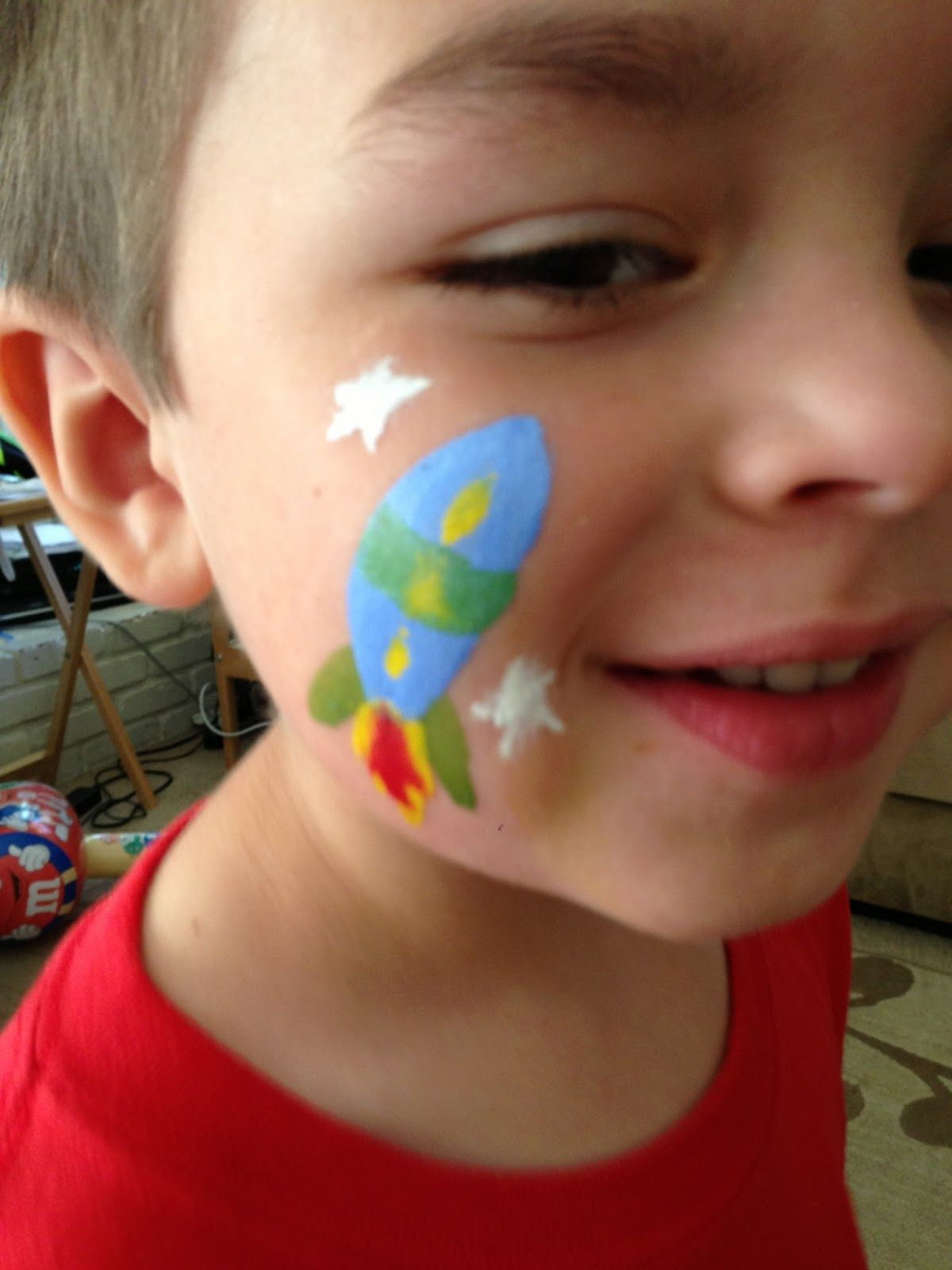 easy face painting ideas for beginners |  are the simple face