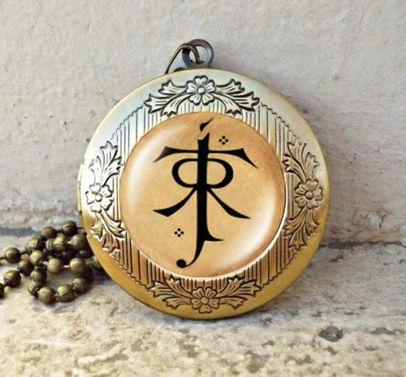 Lotr pendant lord of the rings jewelry elf symbol vintage pendant lotr pendant lord of the rings jewelry elf symbol vintage pendant locket necklace ready for aloadofball Gallery