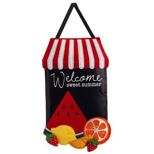 Photo of Summer Fruit Door Hanger – Door Hangers – Themes