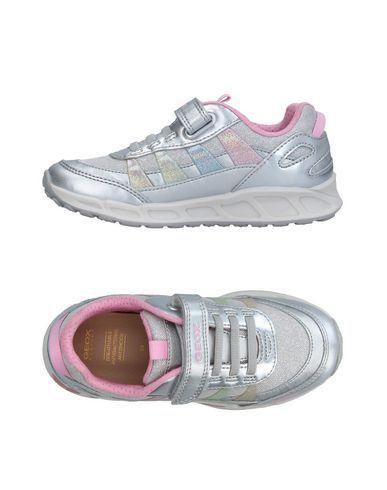 GEOX Girl's' Low-tops & sneakers Silver 13C US