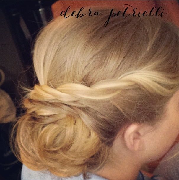 Bridal Party Updo By Debra Petrielli Hairstyles Pinterest Updo
