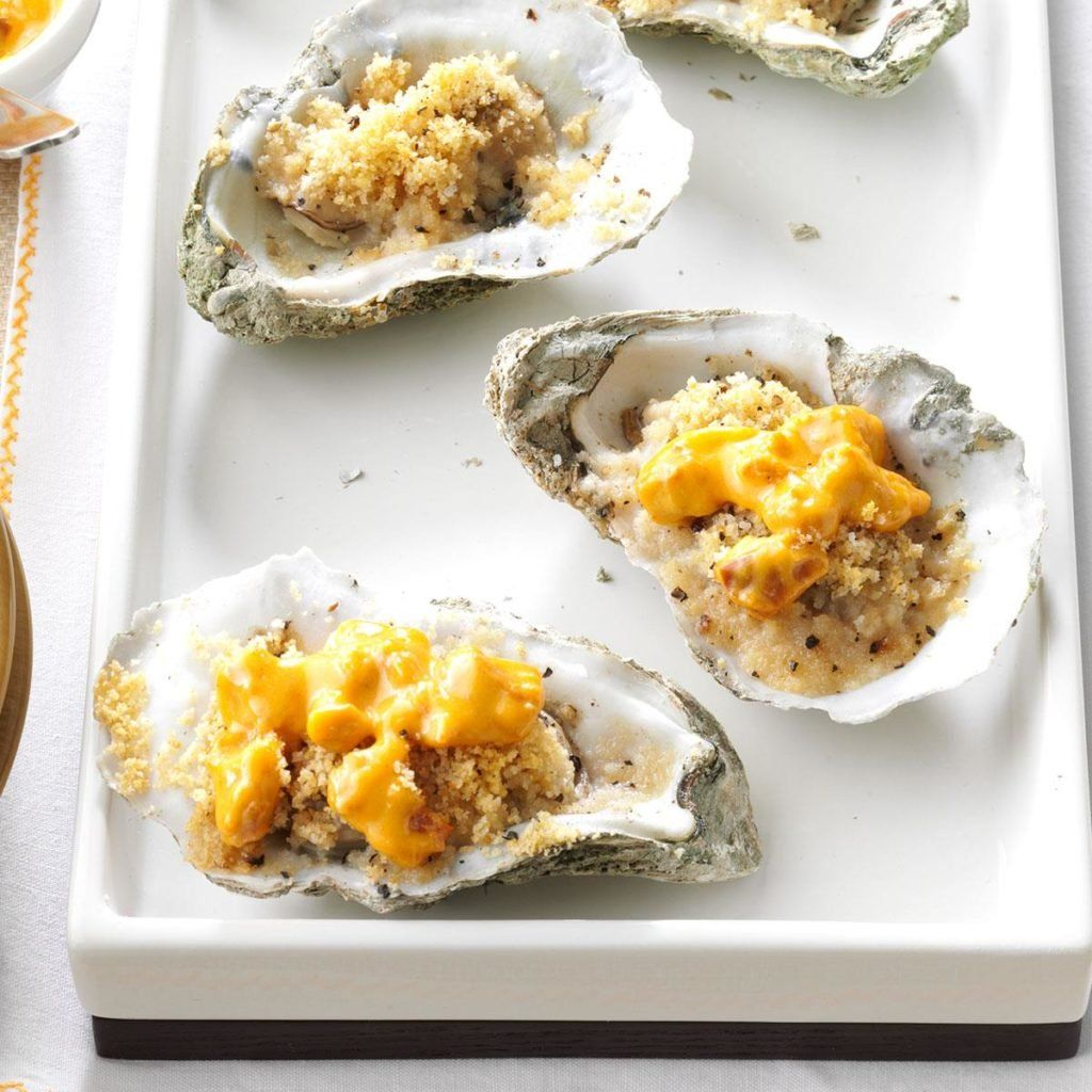 Photo of Baked Oysters with Tasso Cream