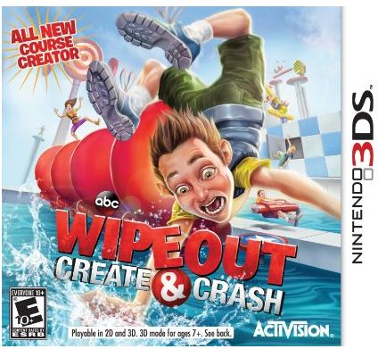 Wipeout Create & Crash for Nintendo 3DS Only 8.40
