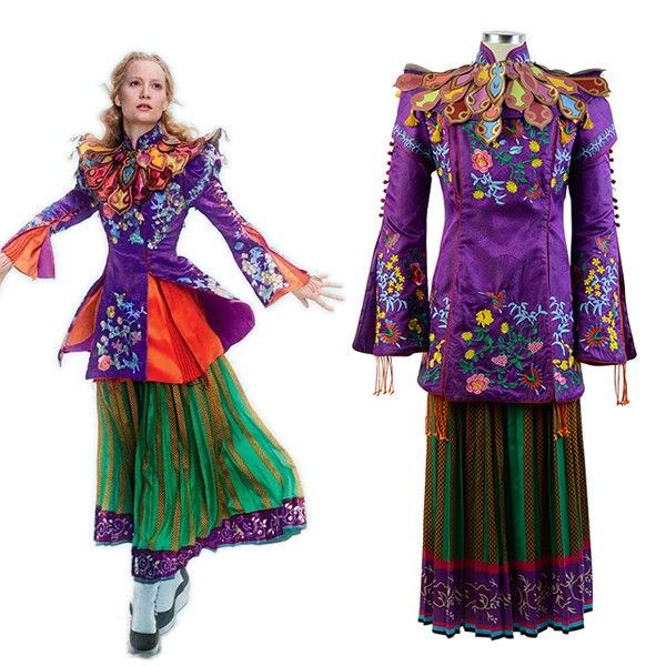 Alice Through The Looking Glass Costumes Alice Mandarin Alice