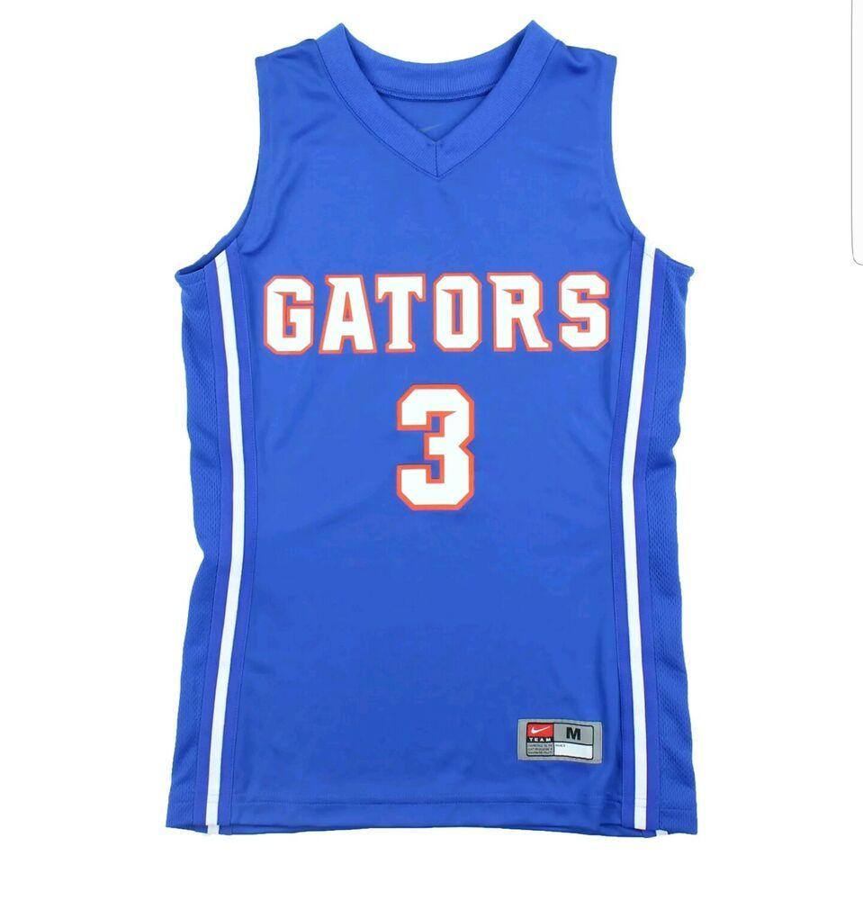 uk availability 5cea1 40e6d Nike Boys Medium Florida Gators Basketball Team Jersey Blue ...