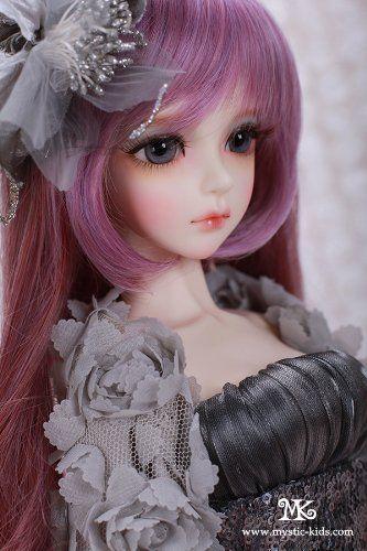 Amazon Com Eileen Mk Mystickids Doll Girl Bjd Doll 1 3 58cm Bjd Doll Dollfie 100 Custom Made Free Make Up Beautiful Barbie Dolls Cute Dolls Pretty Dolls