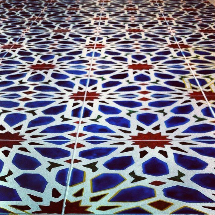 Perspective géométriquement colorée