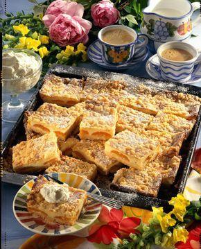 Unser beliebtes Rezept für Aprikosen-Blechkuchen und mehr als 55.000 weitere kostenlose Rezepte auf LECKER.de.