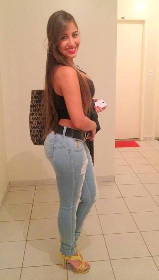 Helika Rios Hot In #Jeans