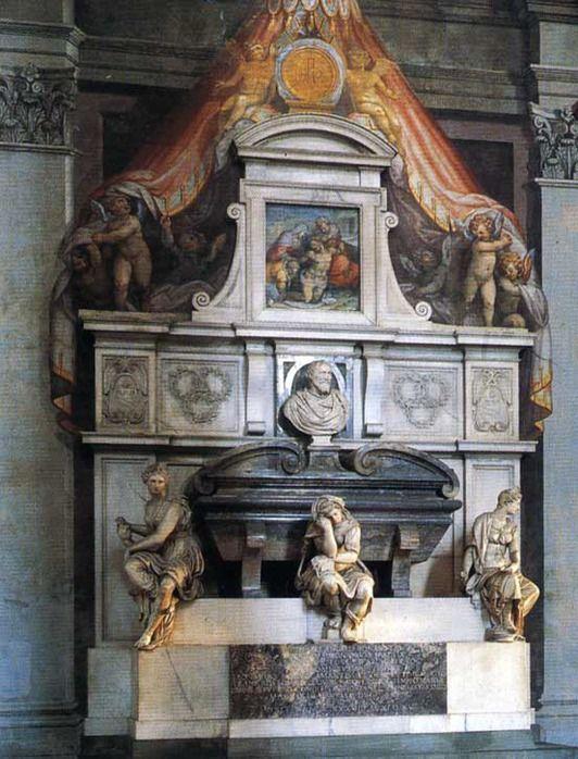 Basilica Santa Croce - Michelangelo Tomb