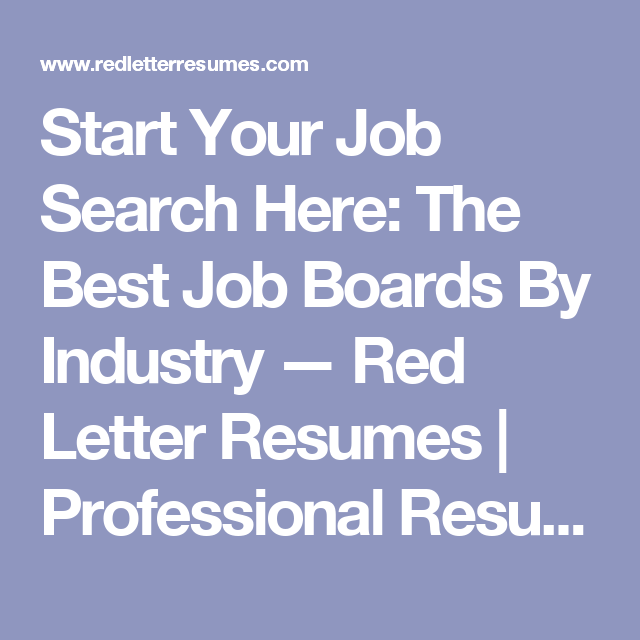 best job search boards
