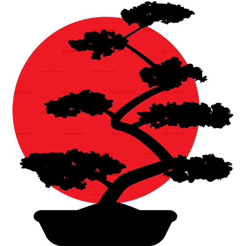 clipart-bonsa-flag-free-vector-design.jpg (800×800 ... Bonsai Tree Clipart