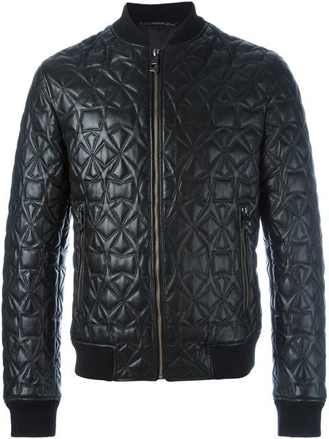 Shop Versace Collection star detail bomber jacket in Profile from the world's best independent boutiques at farfetch.com. Shop 400 boutiques at one address.