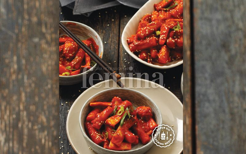 Ttekbokki Resep Resep Makanan Resep Masakan Korea
