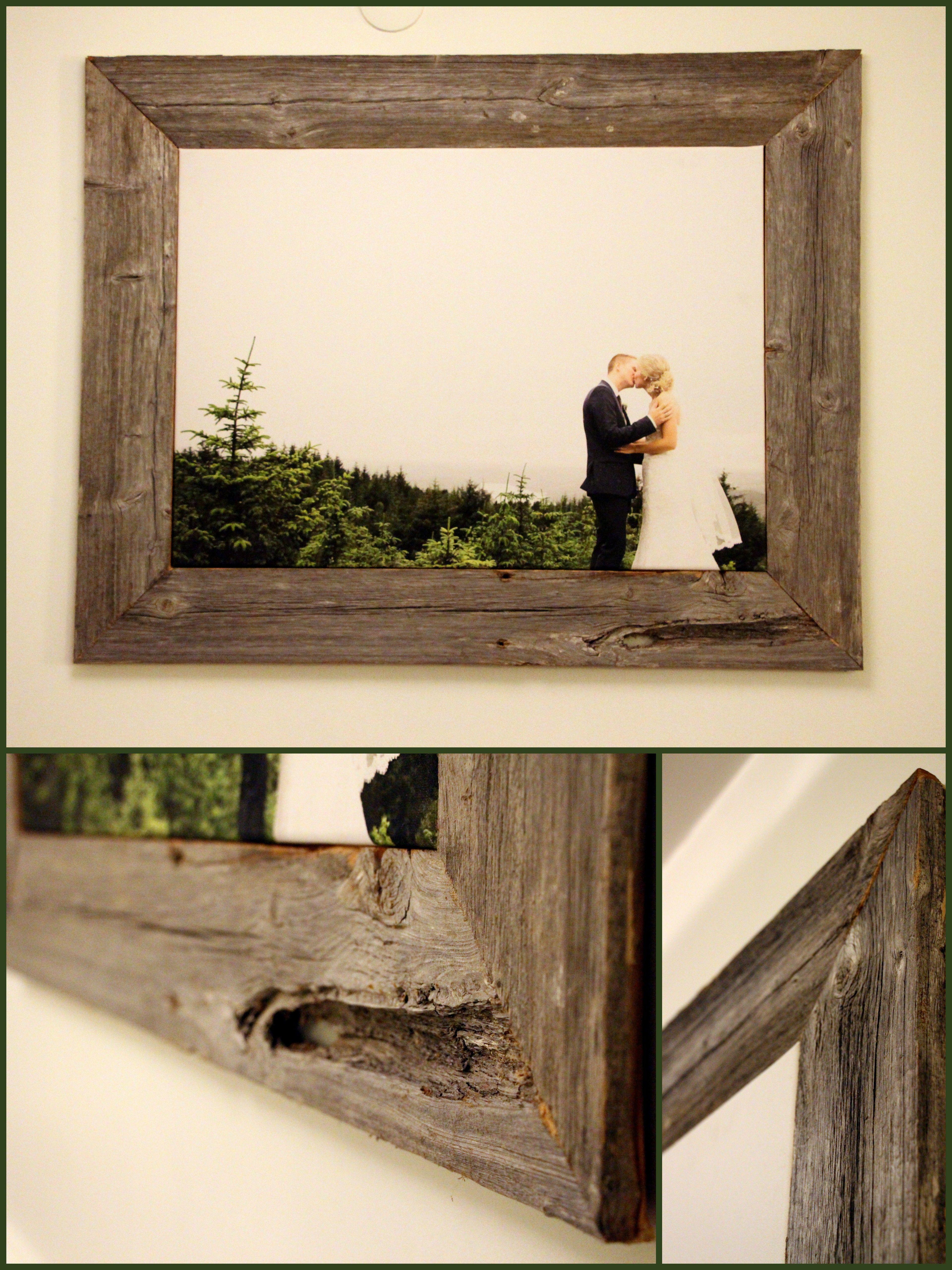 DIY - Old Barn Wood Frame | Pictures | Pinterest | Barn wood, Barn ...