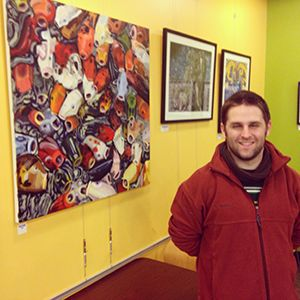 Peter Neel At The Wheatsfield Cooperative Community Art Space, Ames, Iowa