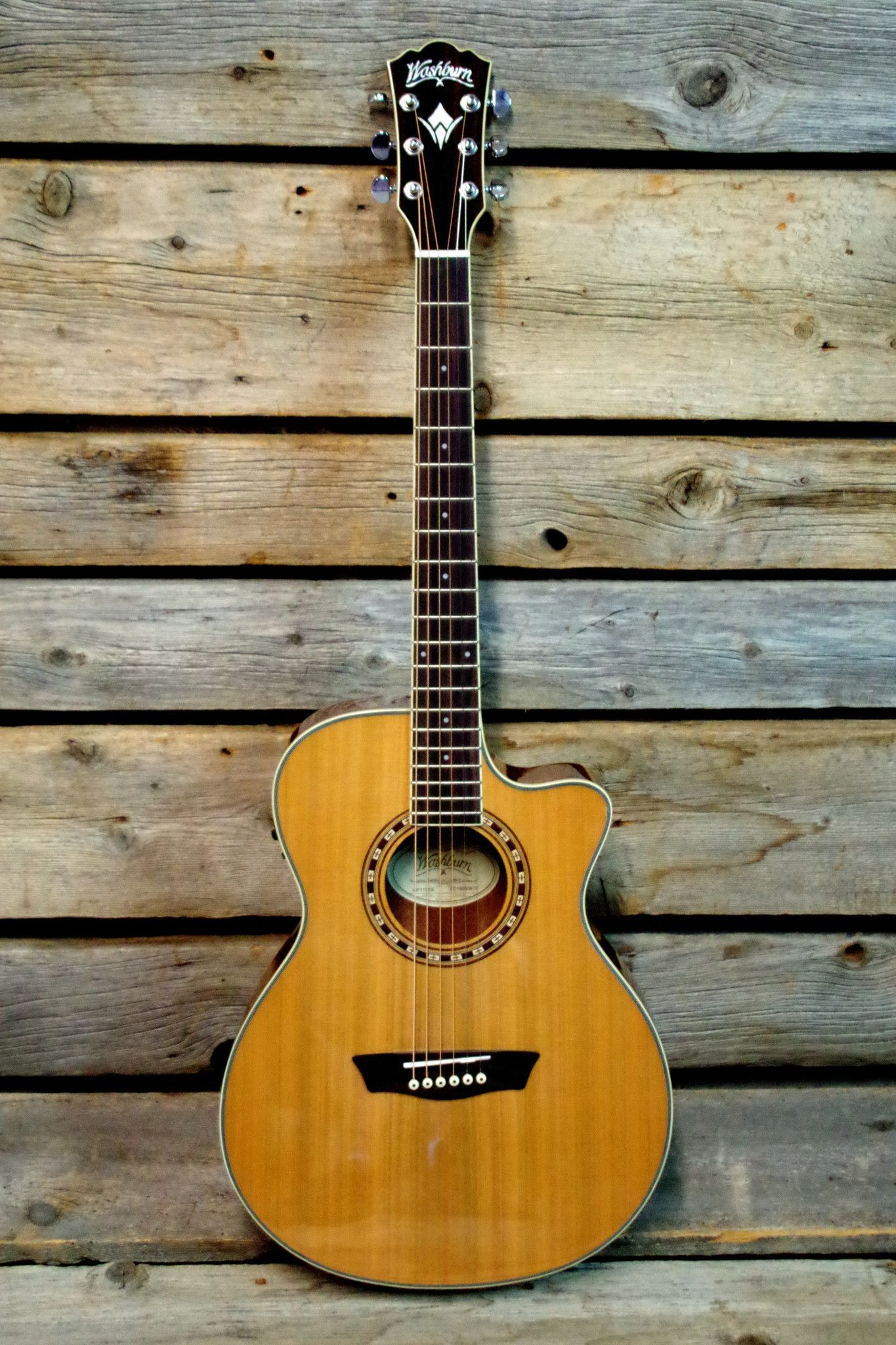 Washburn WF11SCE Heritage Series Acoustic Electric Guitar