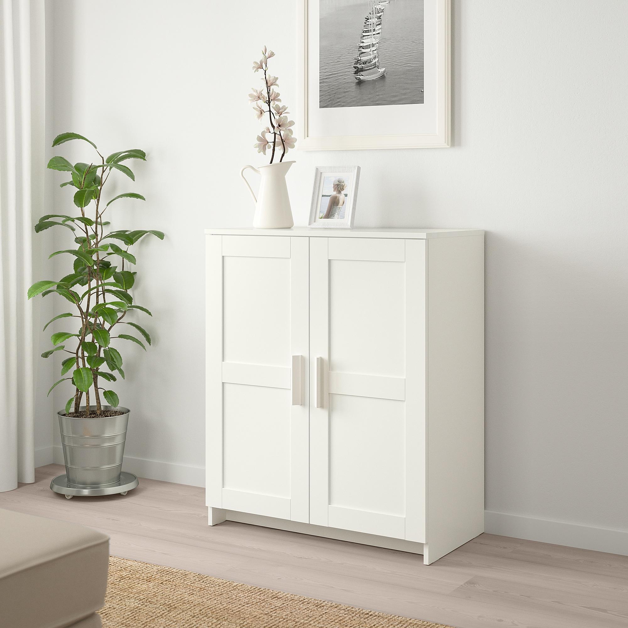 Best Ikea Brimnes Cabinet With Doors White Small Storage 640 x 480