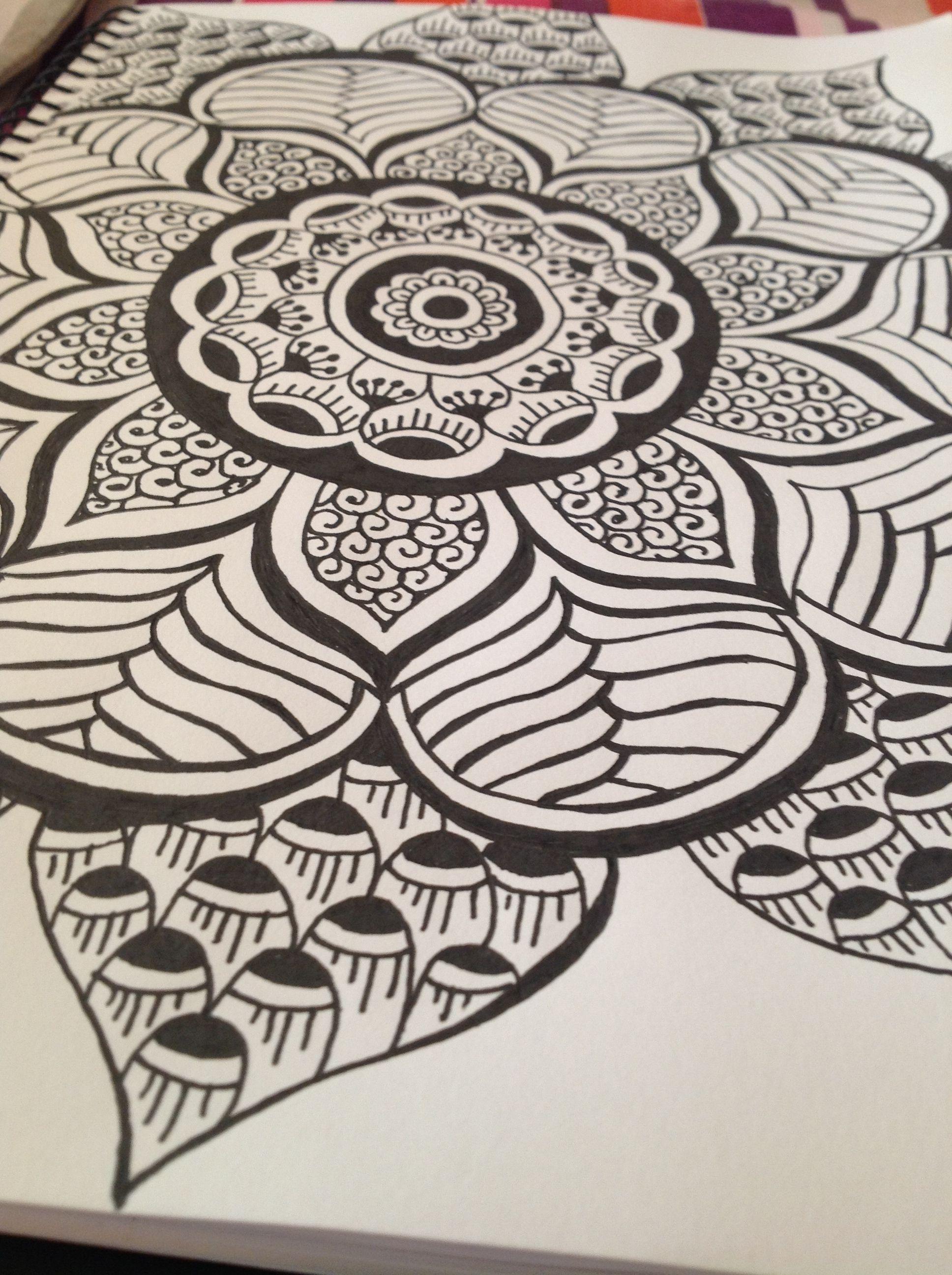 Mandala: I like this one for a tattoo idea too.   Mandalas