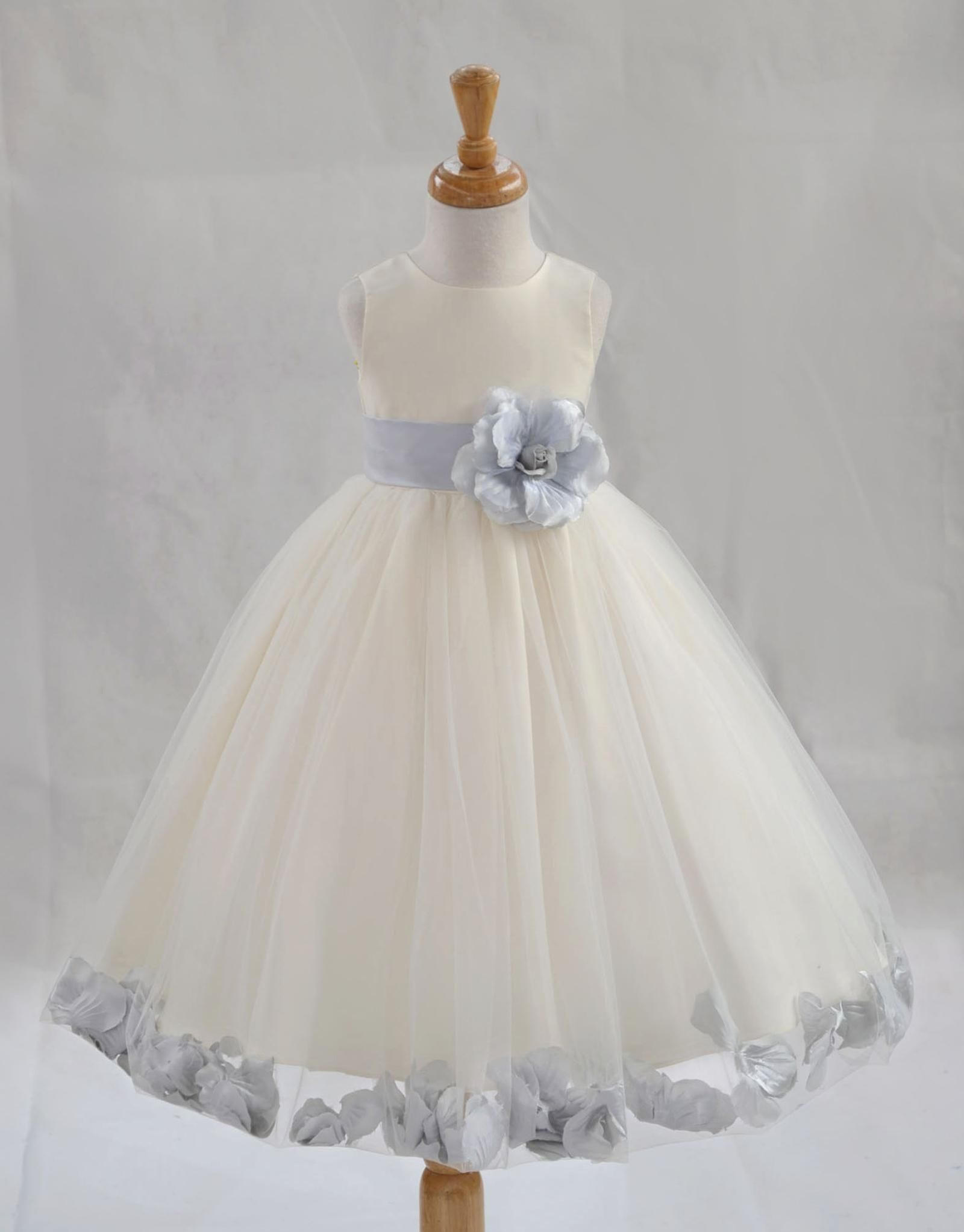 Flower Girl Dress Wedding Formal Pageant Recital Graduation Bridesmaid Communion