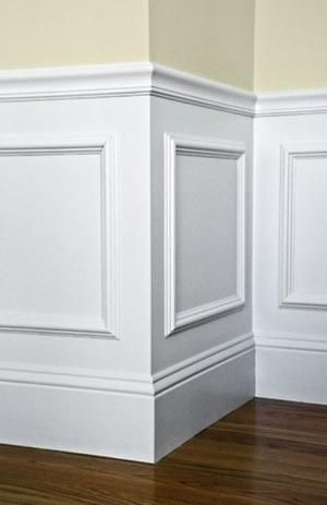 Beautiful Wainscotting - I want to try this myself someday! Use ...