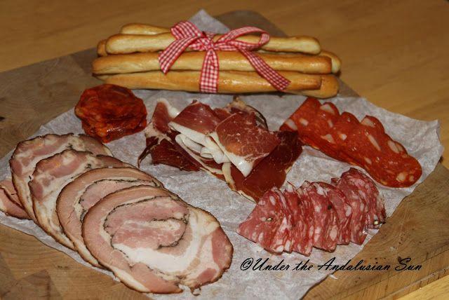Andalusian auringossa-ruokablogi: Italia-ikävää osa 2
