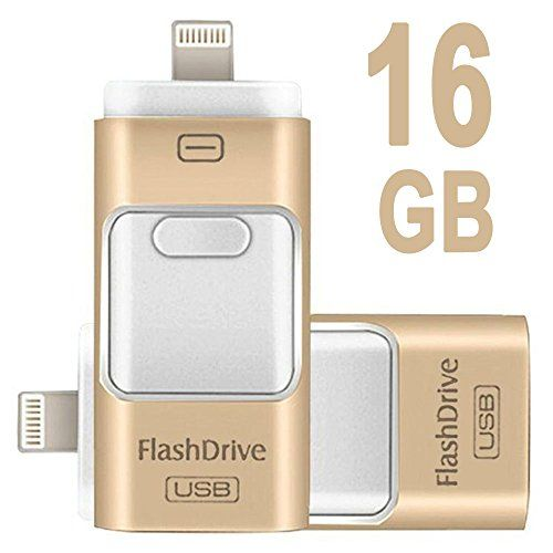 Febite Iphone Flash Drive Usb For External Storage Memory Expansion U Disk Stick Ipads Ipod Android Phones And Computers 3 In 1 Crazy