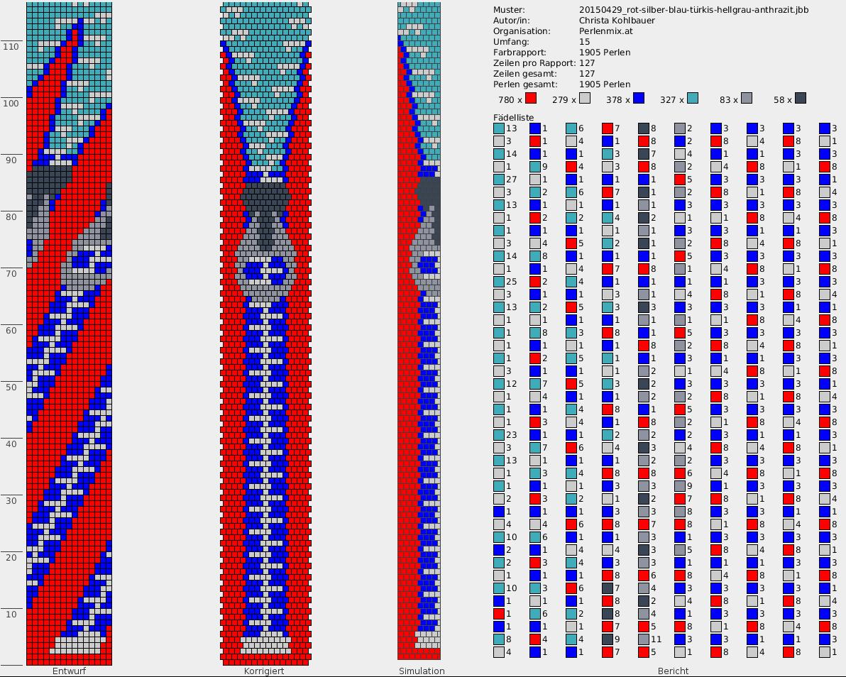 Free pattern h kelketten h keln perlenketten h keln und perlen h keln - Perlenarmband basteln ...