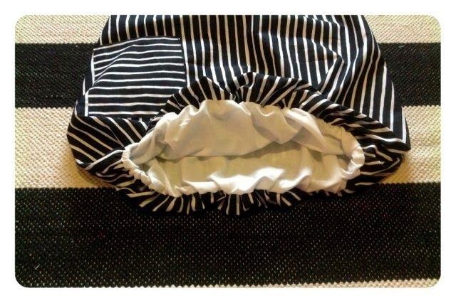 Karkelot: Pussihelmaisen hameen ompeluohje