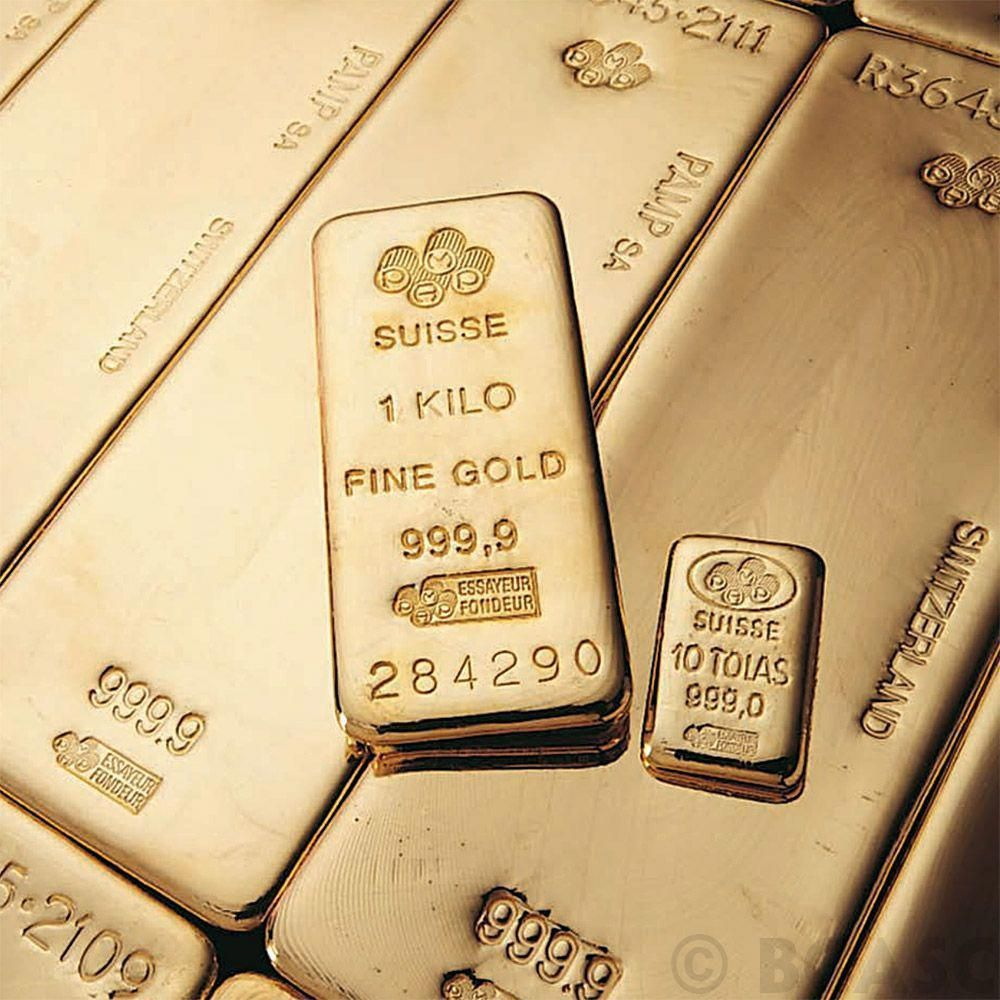 1 Kilo Pamp Suisse Gold Bullion Bar 9999 Fine 24kt Gold 32 15 Troy Ounces This Pamp Kilo Gold Bar Has Had It S Gold Bullion Bars Sell Gold Gold Investments