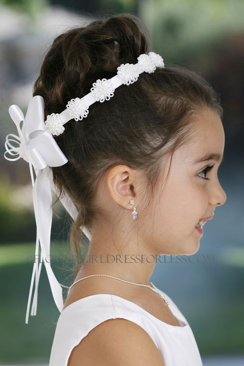 Pin by world facts on jewelleryaccessories made from flowers flower girl hair piece look 2 izmirmasajfo