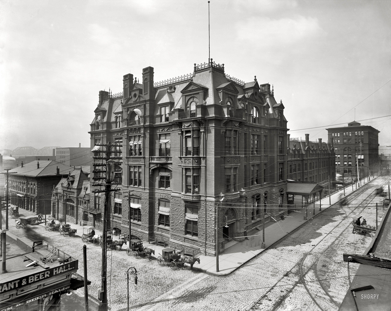 Cincinnati Ohio Circa 1905 Quot Central Union Station
