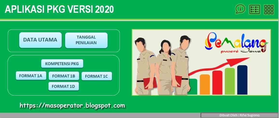 Aplikasi Pkg Versi 2020 Terbaru Kepala Sekolah Tanggal Guru
