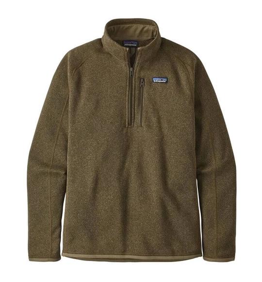Essentials Quarter-Zip Polar Fleece Jacket Uomo
