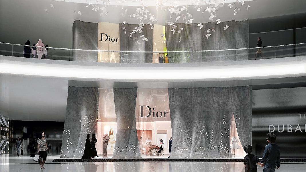 DUBAI MALL DIOR BOUTIQUE Dior boutique, Dubai mall