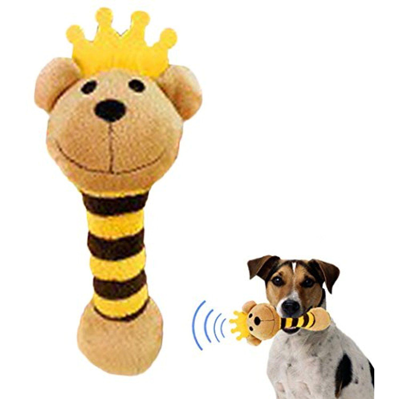 Dog Squeaky Toy Legendog Plush Rattle Toys Bear Gifaffe Pig Panda