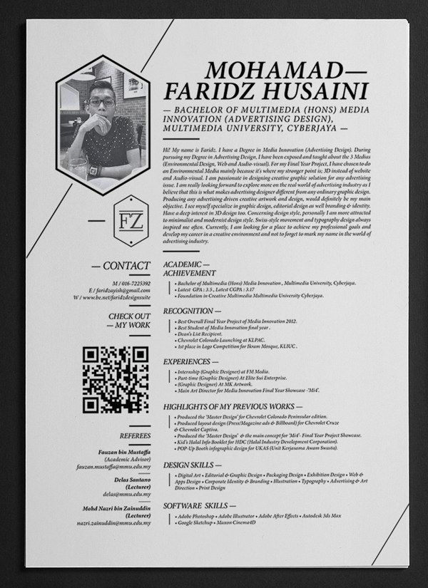 27 Beautiful Résumé Designs You\u0027ll Want To Steal Graphic designers
