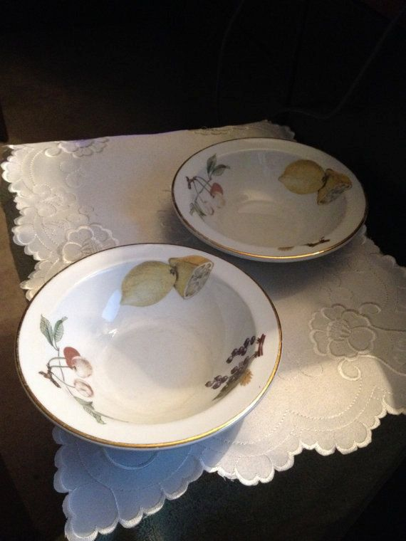 1970s Royal Worcester Evesham Fruit By BuyfromGroovy