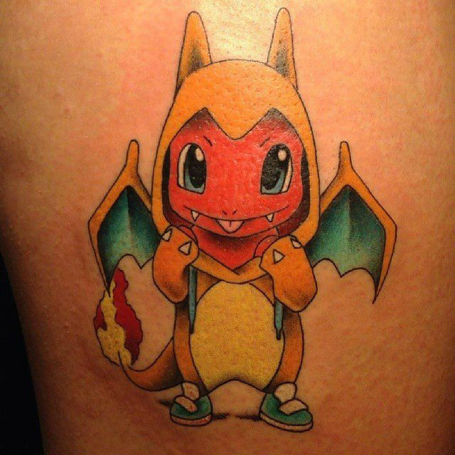 999cafd52 17 Pokemon Tattoos Which Will Throw You Back to Your Childhood ...