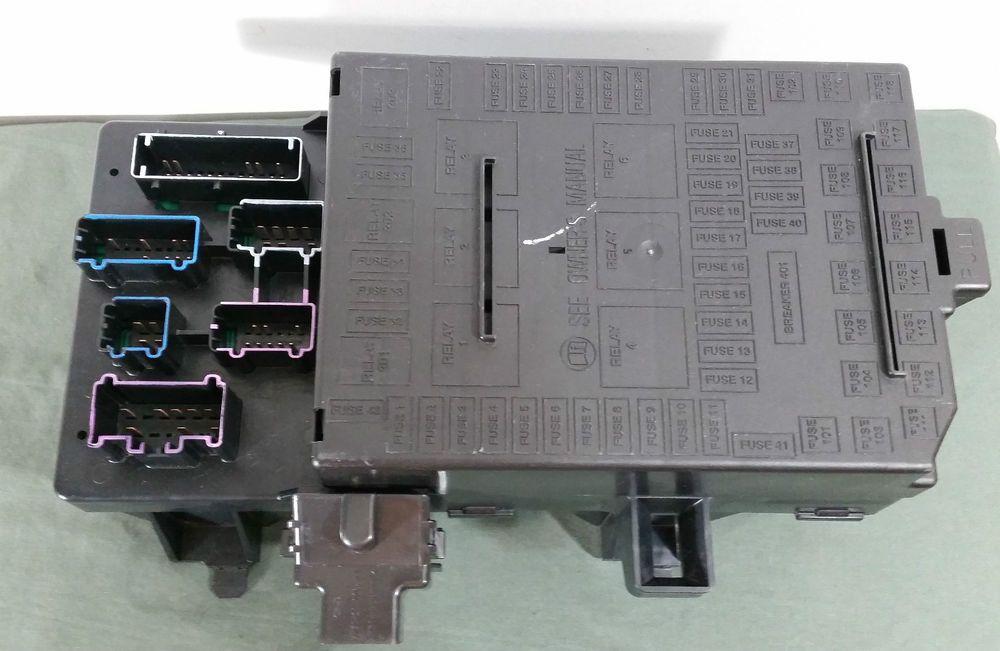 2004 2006 Ford F150 Under Dash Fuse Relay Box Oem 4l3t 14a067 Bh