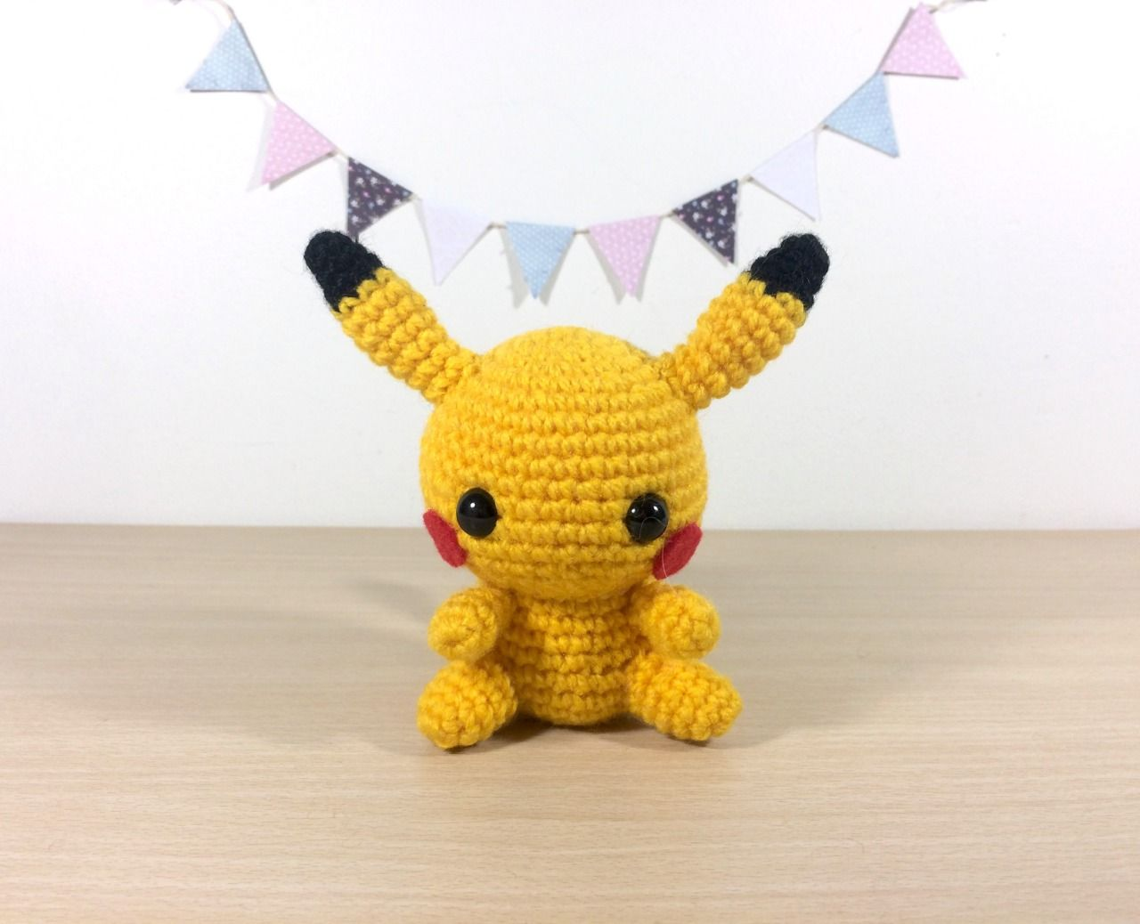 Pikachu - Pokemon Character - Free Amigurumi Crochet Pattern here ...
