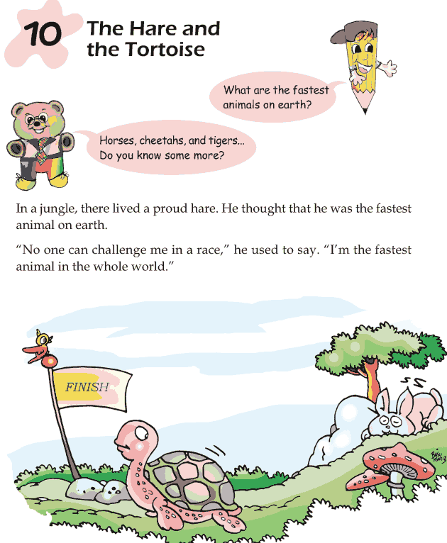 Grade 1 Reading Lesson 10 Fables And Folktales – The Hare ...