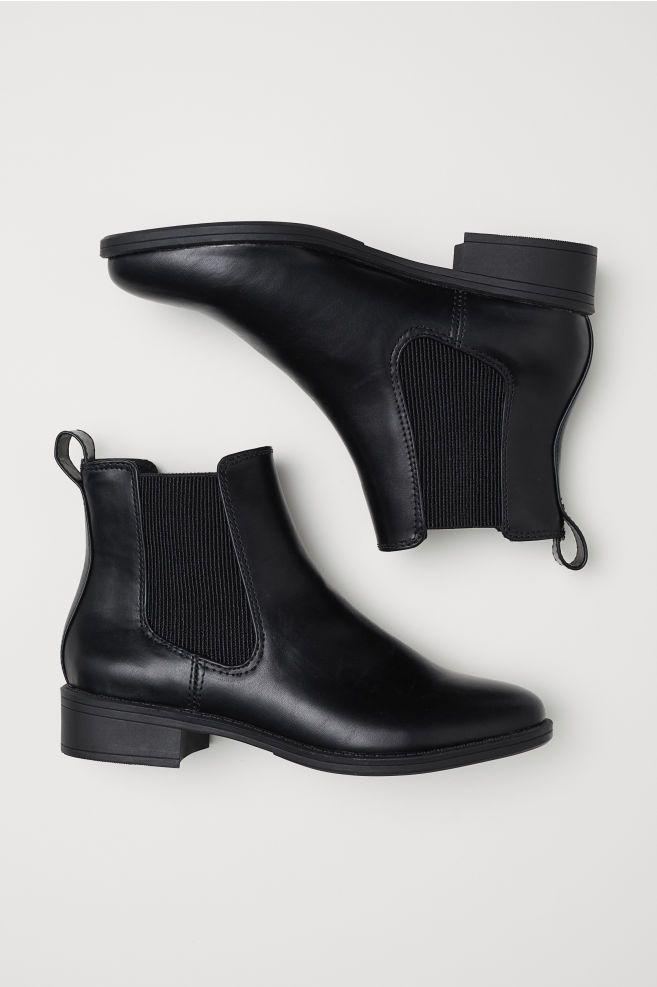 Chelsea boots - Black - Ladies | H\u0026M GB