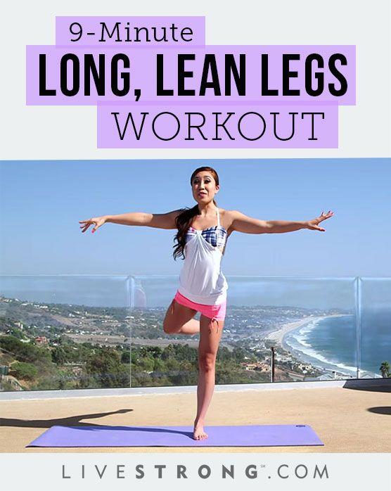 Long Lean Legs Workout
