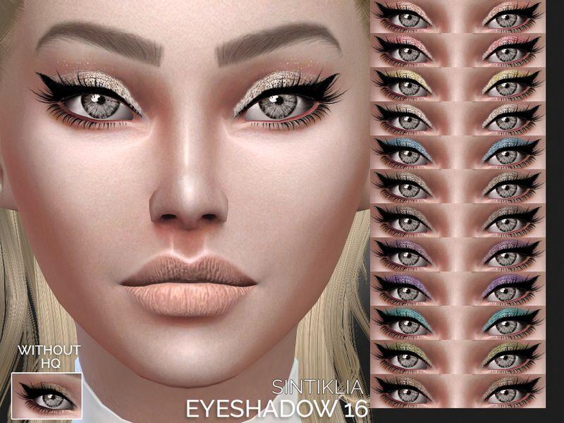 Eyshadow with eyeliner  Found in TSR Category 'Sims 4 Female Eyeshadow'