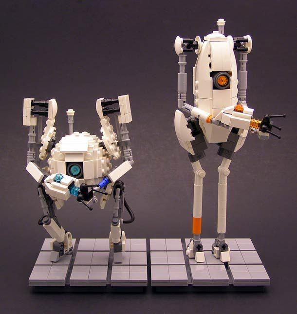 LEGO Portal  ATLAS and P-body | Portal | Pinterest ...
